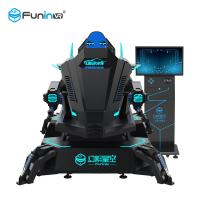 Buy cheap 2020 HOT SALE!! High Quality Black 220V Interactive Dynamic Platform Cinema Simulator 550KG VR Racing car for 1 player from wholesalers