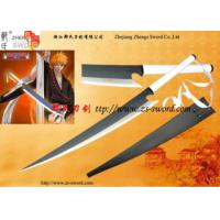 Buy cheap Cosplay Bleach Sword-Bleach Ichigo Shikai Cutting Moon Zangetsu FULL TANG Sword from wholesalers