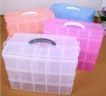 Buy cheap Parts Stocker Organizer PP Plastic Storage Box, pp EVA plastic adjustable plastic storage box, PLASTIC MESS ARTICLE TABL from wholesalers