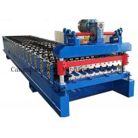 Buy cheap Hydraulic Cutting Roofing Sheet Roll Forming Machine 380v 8-12m/Min Productivity from wholesalers