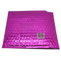 Buy cheap Waterproof Pink Metallic Bubble Mailers Large Volume Puncture Resistant product