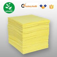 Buy cheap Yellow 100% polypropylene Spill Control Chemical Haz-chem Absorbent Sorbent Pad (Sheet) from wholesalers