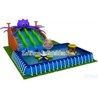 Buy cheap Summer Season Metal Frame Pools For Outdoor Activity / Swimming / Water Fun product