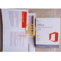 Buy cheap 2013 / 2016 Microsoft Office Key Code for Mac One Product Key Card PKC 1 Mac from wholesalers