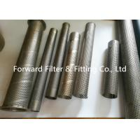 Buy cheap Punching Automotive Perforated Exhaust Tubing , Water Treatment Perforated Filter Tube from wholesalers