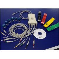 12 Channel Hand Held Rest PC ECG Machine , Vector ECG Workstation