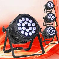 Buy cheap Guangzhou 18*10w rgbwa led screen concert lighting led par light hot sale in dragon mart dubai club factory from wholesalers