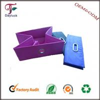 Buy cheap Foldable wooden cardboard home storage box from wholesalers