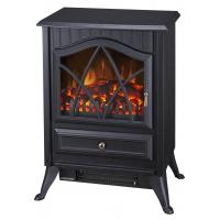 Buy cheap log burning flame electric fires stoves FIREPLACE ND-18D2P chimenea Sentik Milton Estufa from wholesalers