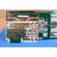 Buy cheap RO4350B Material Multilayer Printed Circuit Board With White Silkscreen On Top Side from wholesalers