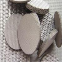 Buy cheap Wire Mesh Sintered Fiber Felt Mass Stock ISO9001 For Hot Gas Filtration from wholesalers