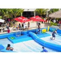 Buy cheap Outdoor Aqua Play Flowrider Water Ride For Skateboarding Surfing Sport from wholesalers