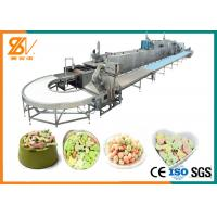 China 100-1000 Kg / H Soft Cookies Animal Feed Processing Machine Electric Oven PLC Control on sale