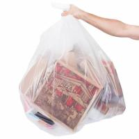 Buy cheap Low Density Commercial Garbage Bags / Trash Bags 45 Gallon 1.2 Mil 40 X 46 from wholesalers
