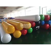 Buy cheap PVC Tarpaulin Inflatable Water Toys Barrier Water Pipe For Water Game On Lake SCT EN71 from wholesalers