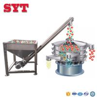 Buy cheap Stainless steel inclined screw feeder for grain or fodder powder from wholesalers