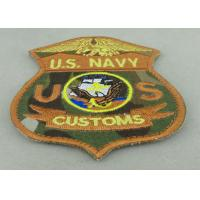 Buy cheap US Navy Custom Embroidery Patches Woven For American Military from wholesalers