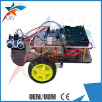 Buy cheap DIY 2WD Smart Toy Arduino Car Robot Chassis HC - SR04 Ultrasonic Intelligent Car from wholesalers