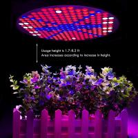 Buy cheap 50W UFO Hydroponics LED Grow Light Bulb For Indoor Plants , 120 Degree Angle product