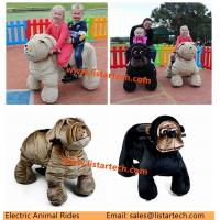 Buy cheap Outdoor Amusement Park Kids Battery Cars Kiddy Ride Electric Animals Dinosaur Game Bike from wholesalers