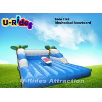 Buy cheap Coco Tree Shape Mechanical Surfboard Hire / Inflatable Surfboards CE Certificate from wholesalers