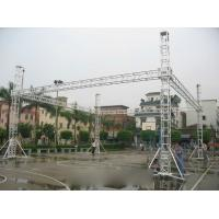 Buy cheap Advertising Performance Stage Aluminum Truss Spigot Square Recycled Long Span from wholesalers