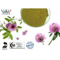 Buy cheap Fresh Herb Natural Plant Extracts , Trifolium Pratense Extract With Biochanin A / Formononetin from wholesalers