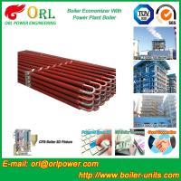 Power Plant CFB Boiler Economizer Silver Boiler Spare Part For Petroleum Industry