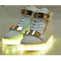 Buy cheap Breathable Blue LED Light up Sneakers Led Fashion Shoes Wear - Resistant from wholesalers