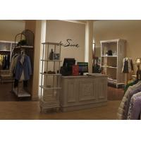 Buy cheap Fashional Bedroom Clothing Store Furniture , Retail Store Display Furniture from wholesalers