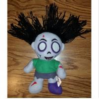 Buy cheap Customized Size Halloween Plush Toys With Dead Scary Zombie Girl Shaped from wholesalers