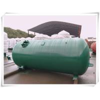 Buy cheap Industrial Compressed Oxygen Air Storage Tanks , Liquid Oxygen Portable Tanks With Bracket from wholesalers