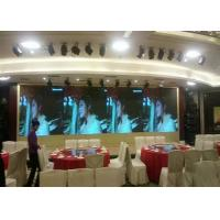 Buy cheap Outdoor Indoor Stage Background Mobile Led Display Screen For Concert die-casting cabinet using for rental from wholesalers