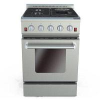 Buy cheap 24 Inches Gas Oven with Electric Ceramic Furnaces from wholesalers