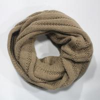 Buy cheap mohair yarns knitting neck scarf in hollow out pattern from wholesalers