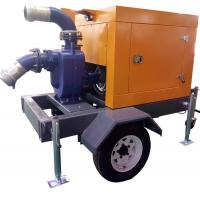 Buy cheap Self priming Diesel Centrifugal Water Pump , agricultural irrigation pumps from wholesalers