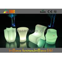 Buy cheap Hotels Led Cube Chair With Wireless Remote Control And CE , ROHS ,UL from wholesalers