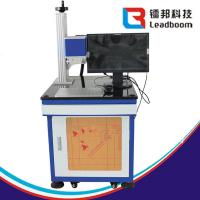 Buy cheap Leadboom Stable CO2 Laser Marking Machine Glass Batch Coding Machine Air Cooling from wholesalers