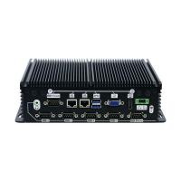 Buy cheap 4G DDR3 Memory Industrial Mini PC Integrated Intel HD Graphics Support RS232/RS422/RS485 from wholesalers