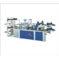 Buy cheap Computer controlled double layer roll top T-shirt and flat bag making machine from wholesalers