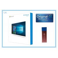 Buy cheap 64 Bit DVD OEM License Microsoft Windows 10 Operating System  / home Software French activation online from wholesalers
