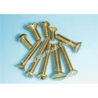 Buy cheap Brass machine screw from wholesalers