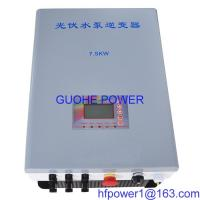 Buy cheap Solar pump inverter  7.5kw from wholesalers