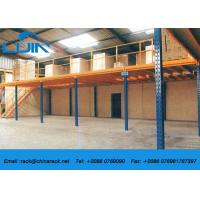 Buy cheap Metal Frame Structural Mezzanine FloorsPlatform For Industrial Warehouse from wholesalers