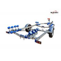 Buy cheap Fully Zinc Plated Small Aluminum Boat Trailer , 5960mm X 2200mm Lightweight Boat Trailer from wholesalers