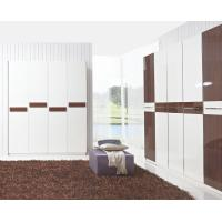Buy cheap Hotel Interior Design by project Furniture in-wall Wardrobe cabinet high glossy product