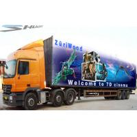 Buy cheap Mobile Truck 7D Cinema System Waterproof Motion Cinema Seat product