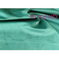 Buy cheap 200-450gsm Luxury Curtain Fabric / Plain Dyed Velvet Furnishing Fabric from wholesalers