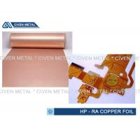 Buy cheap 10μm Double Side Shiny RA Copper Foil Roll for FPC , tinned copper sheet product