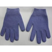 Buy cheap Youth Gel Moisturizing Gloves Spa Gel Filled Blue Cotton Gloves For Moisturizing Hands from wholesalers